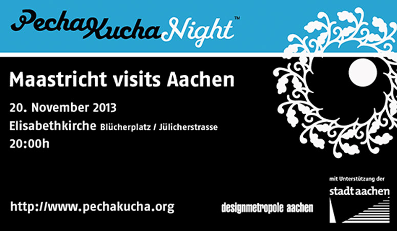 Archigraphus - Pecha Kucha Night 2013 | Aachen